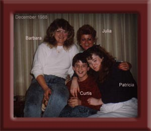 Julia, Barbara, Patricia, Curtis